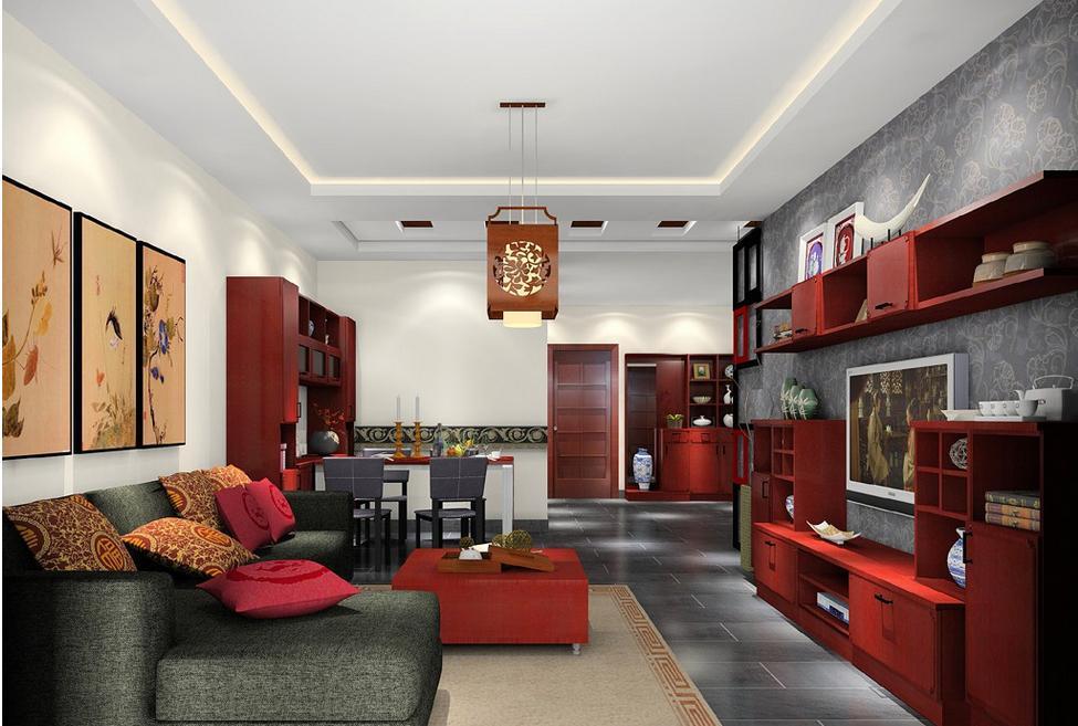 中式灯,中式灯具,明清红木家具