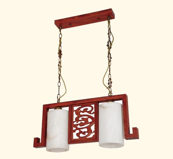 古典红木灯具