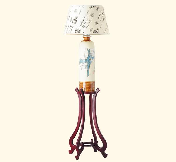 陶瓷台地灯