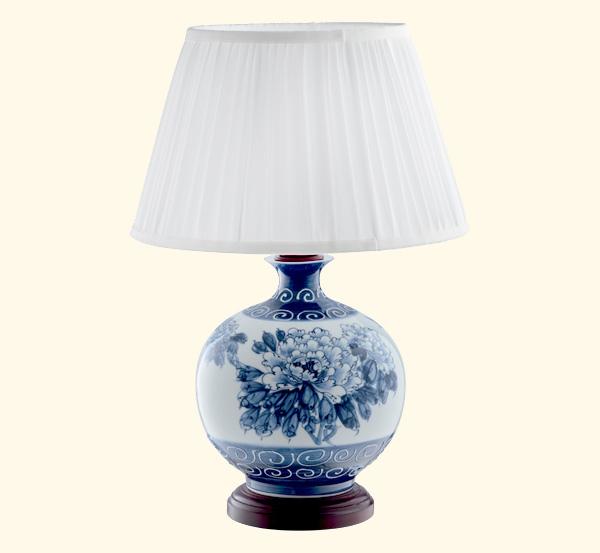 戈顿木灯陶瓷台地灯