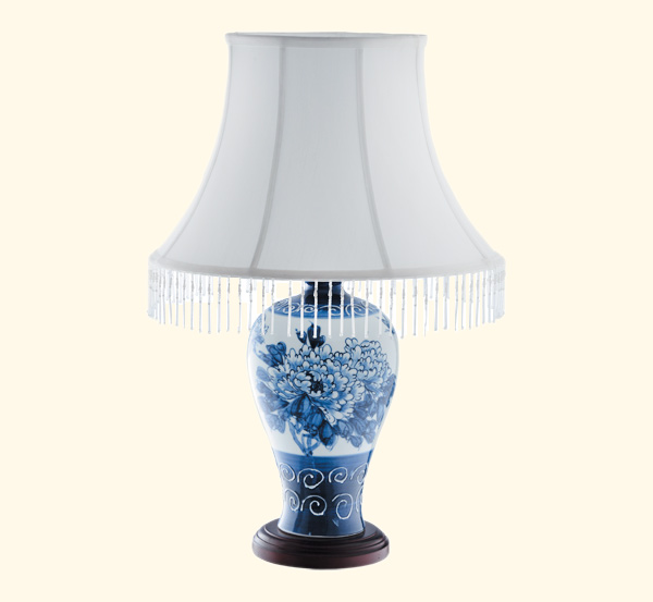 戈顿中式灯陶瓷台灯