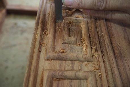 红木工艺刮磨工艺