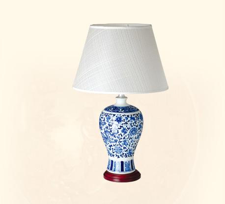 古典陶瓷台地灯