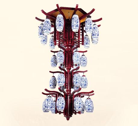 青花瓷陶瓷灯饰