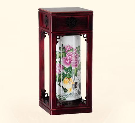 中式古典陶瓷台灯