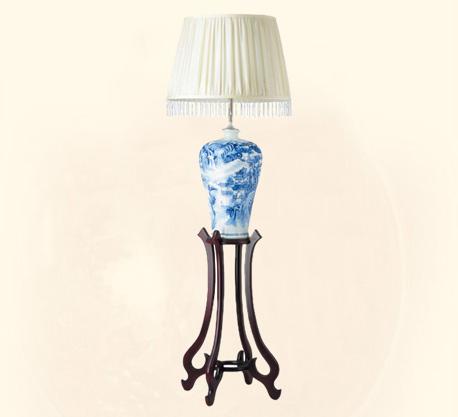 木皇戈顿陶瓷台灯