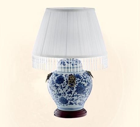 中式台灯陶瓷台灯