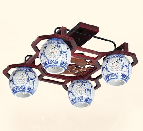 木皇戈顿陶瓷吊灯