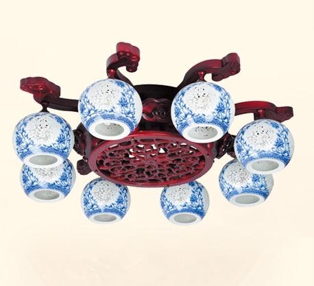 戈顿灯饰古典陶瓷灯