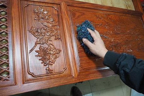 红木工艺上蜡工艺