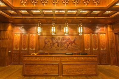 中式装修、中式整装、红木整装
