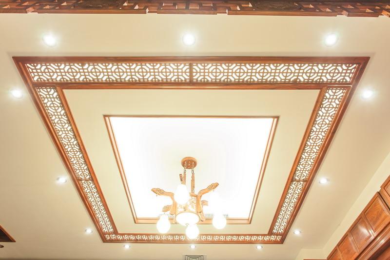 中式装修、红木整装、红木天花12
