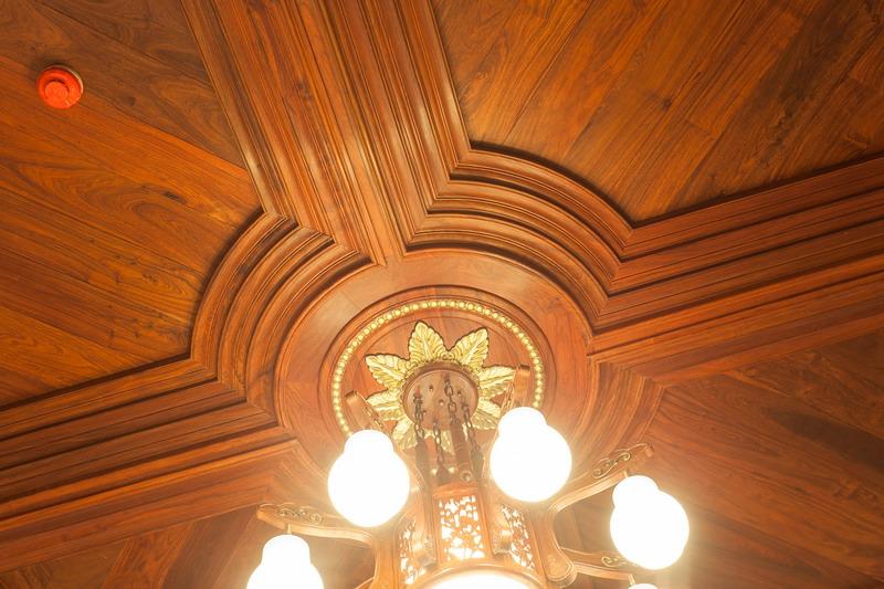 中式装修、红木整装、红木天花14