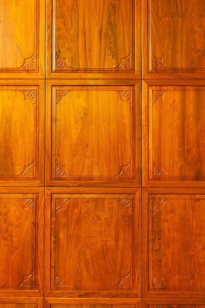 中式装修、红木整装、红木护墙板橱柜02
