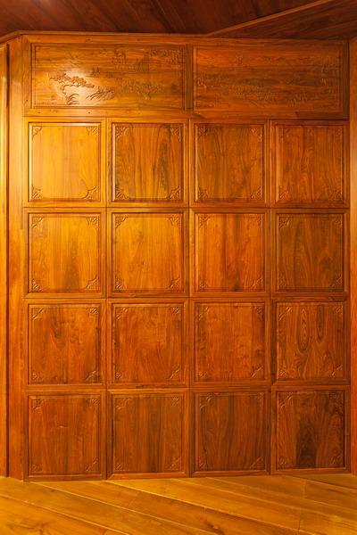 中式装修、红木整装、红木护墙板橱柜03