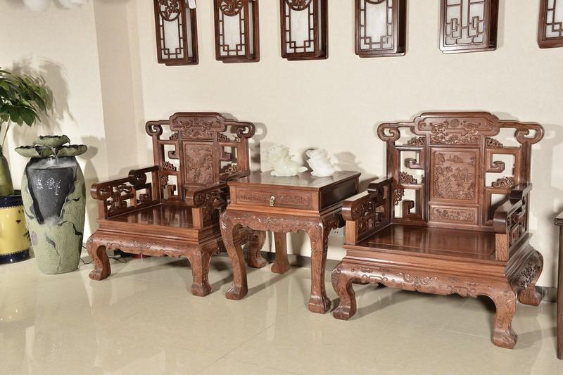 中式装修、红木整装、红木家具07