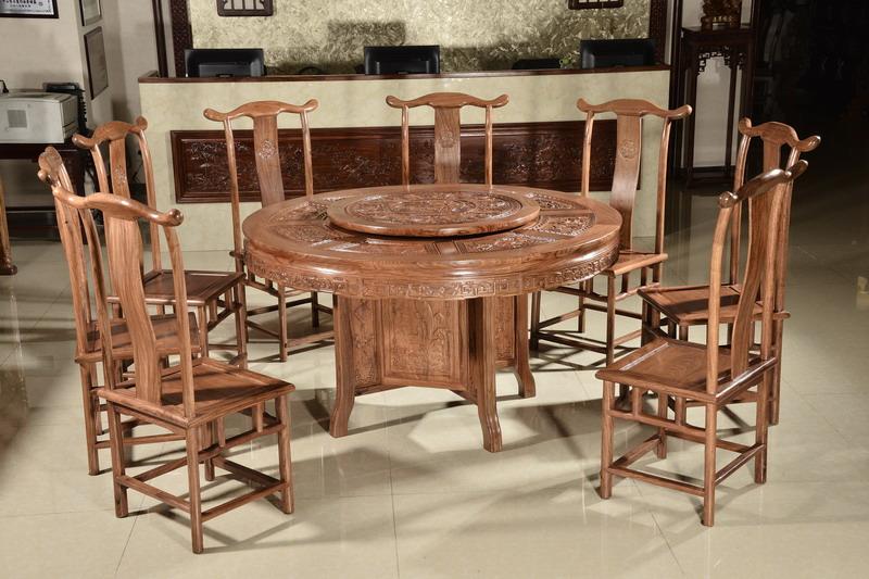 中式装修、红木整装、红木家具08