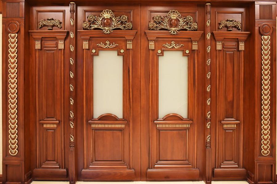 中式装修、红木整装、红木木门16