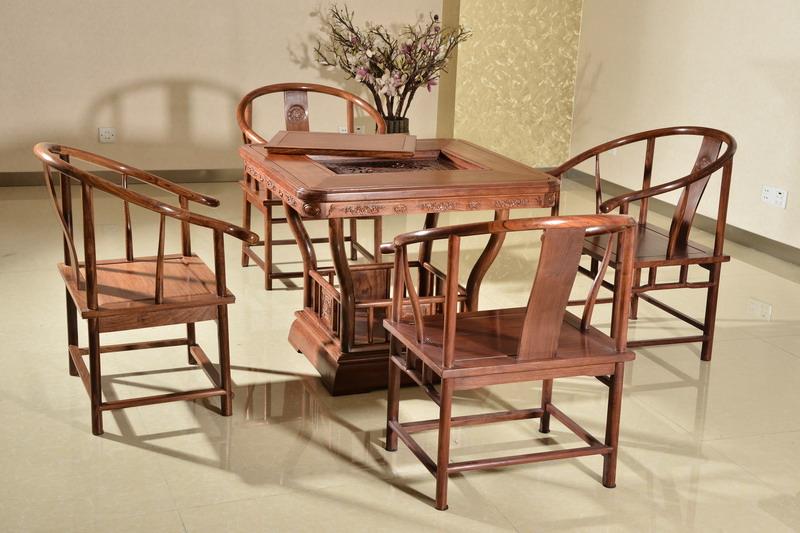 中式装修、红木整装、红木家具13