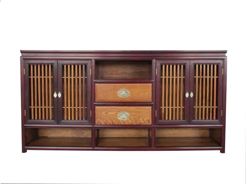 中式装修、红木整装、红木橱柜02
