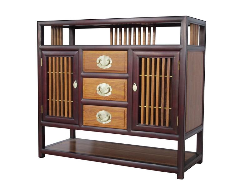 中式装修、红木整装、红木橱柜03