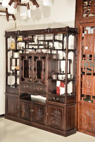 中式装修、红木整装、红木橱柜04