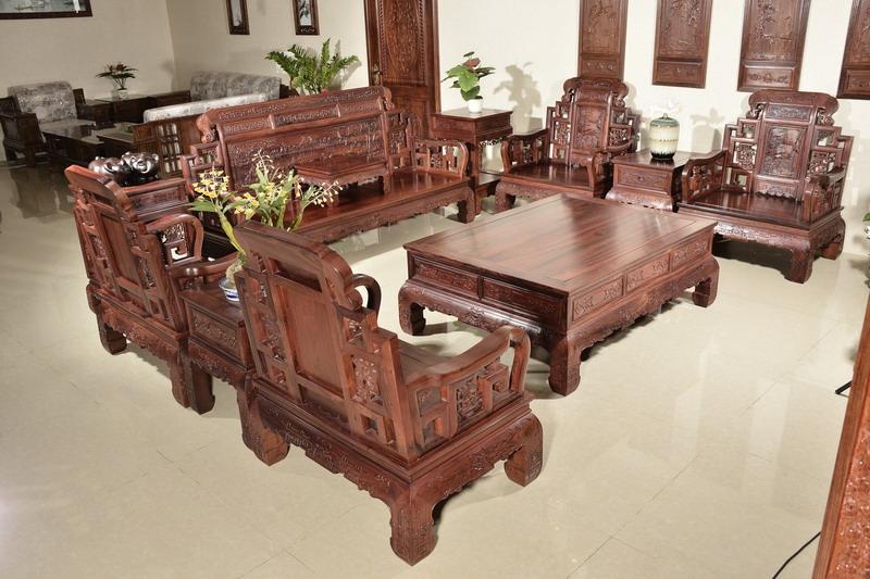 中式装修、红木整装、红木家具15